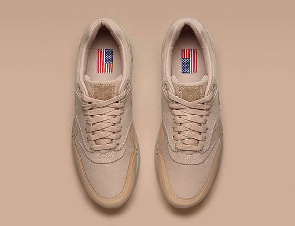 Tan Nike Air Max 1 Patch