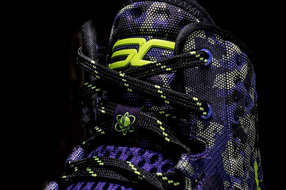 Under Armour Curry One 'Dark Matter', Stephen Curry's All ...