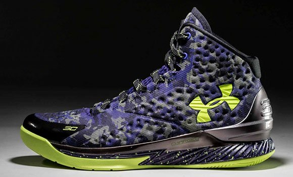 new styles 9edf1 dce47 Under Armour Curry One Dark Matter All Star