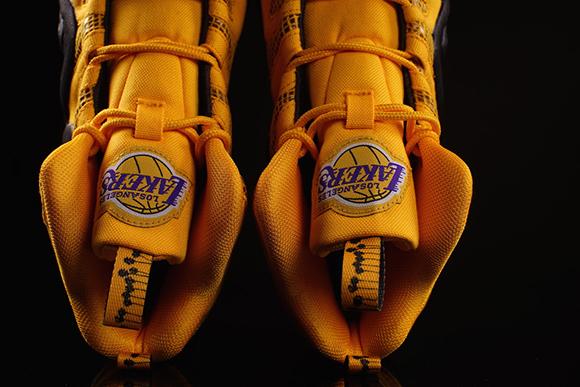 hot sale online 2a374 d4964 adidas Crazy 8 'LA Lakers' | SneakerFiles