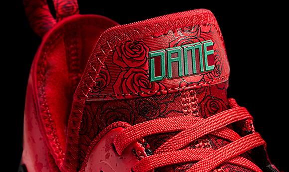 adidas D Lillard 1 Rose City