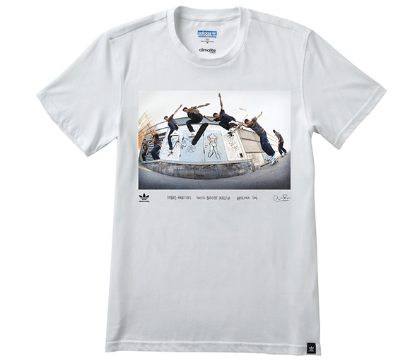 adidas Superstar Hi Richard Angelides Shirt