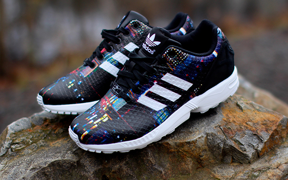 ea4907ccc3ed adidas Women s ZX Flux  Snake City