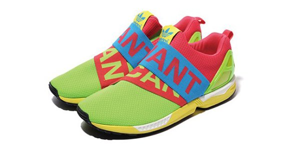 adidas ZX Flux Slip On I Want, I Can