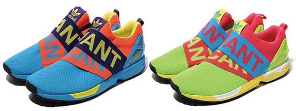 adidas ZX Flux Slip On 'I Want, I Can