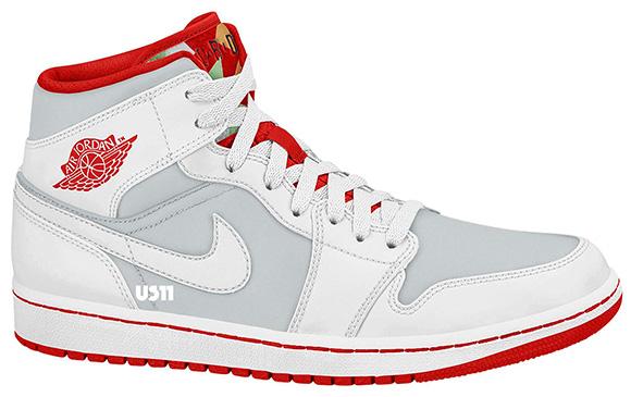 Release Date: Air Jordan 1 Mid 'Hare' Retro 2015   SneakerFiles
