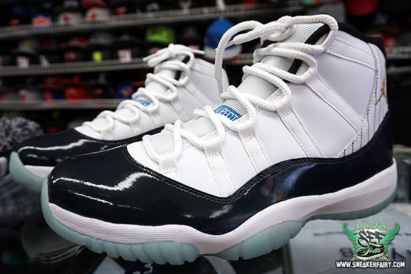 Air Jordan 11 Derek Jeter Custom
