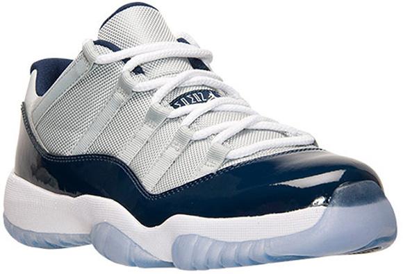 015e10b5344 Release Date  Air Jordan 11 Low  Georgetown