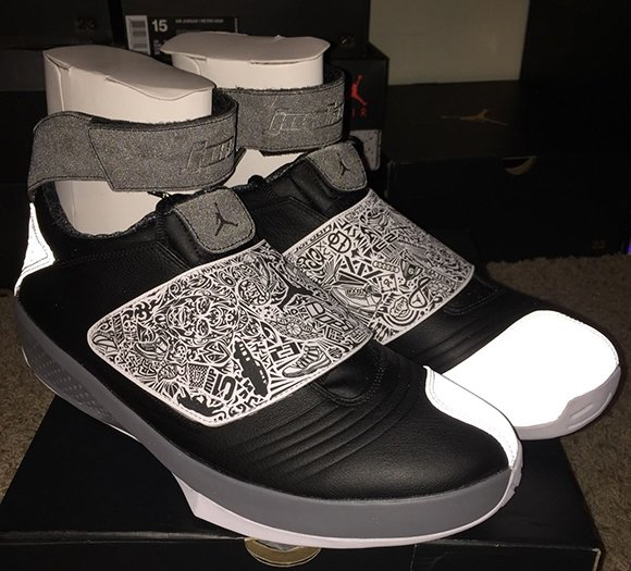 Air Jordan 20  Playoff  - Detailed Look  da1428416
