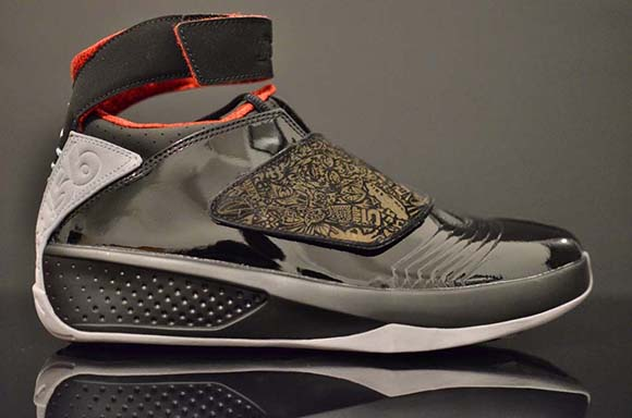 8764c97ec80a10 Air Jordan 20  Stealth  2015 Retro - Detailed Look