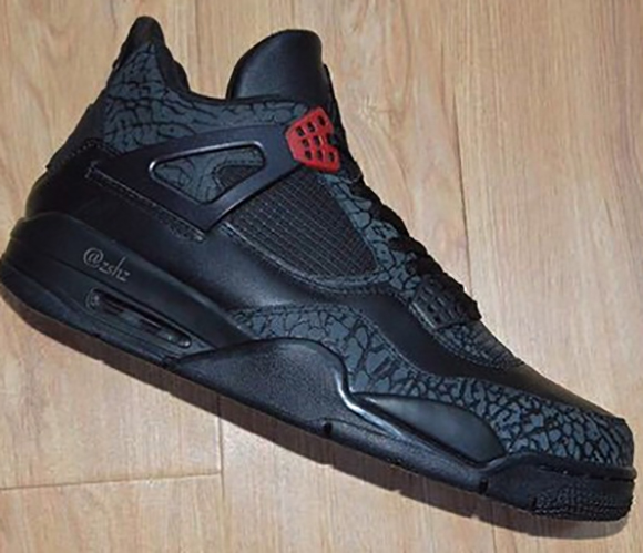 on sale 5a9ab 33a17 Air Jordan 3Lab4 Black Infrared 23