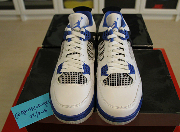Air Jordan 4 Motorsports Available