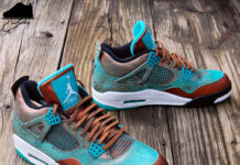 Air Jordan 4 Patina Custom