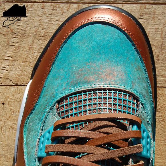 Air Jordan 4 Patina Custom