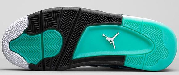 Air Jordan 4 Teal 2015 Retro