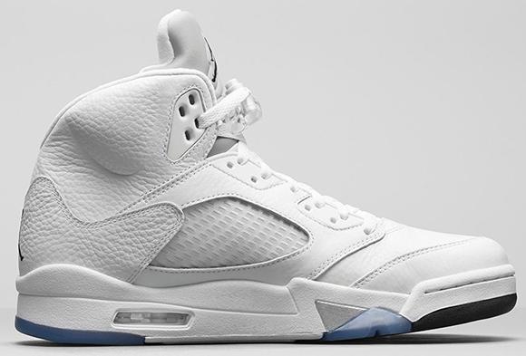 best sneakers 2dd5b 5dc28 Air Jordan 5 Metallic Silver Release Info