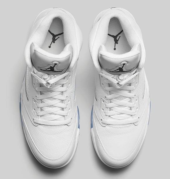 Air Jordan 5 Metallic Silver Release Info
