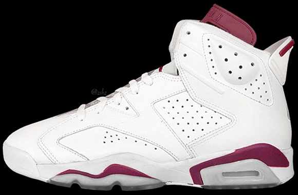Air Jordan 6 Maroon Releasing Holiday 2015 Rumor