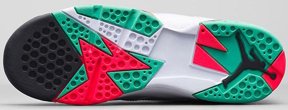 Air Jordan 7 Girls Verde Green Release Info