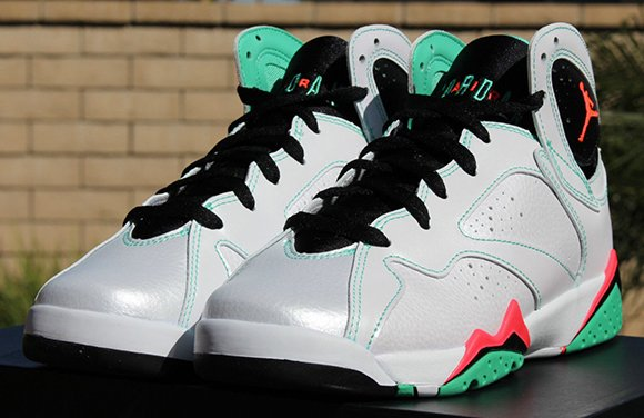 3b8abad3a406 high-quality Air Jordan 7 Girls White Infrared Verde Available Early ...
