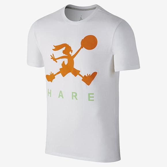 Air Jordan Jump Bunny Shirt White