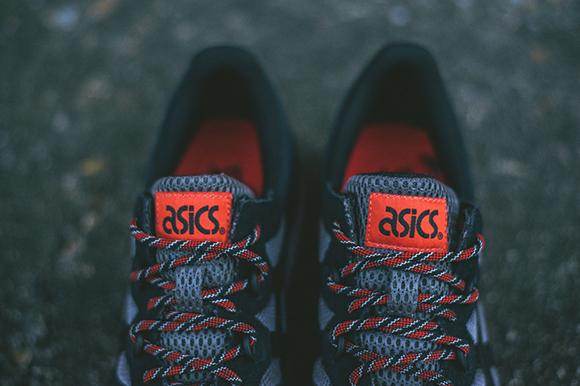 Asics Gel Epirus Black Orange