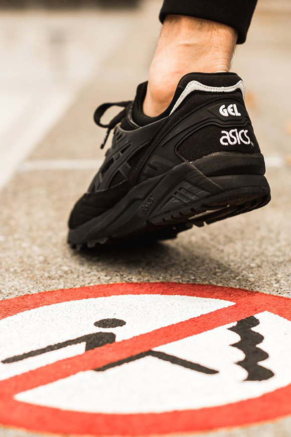 asics gel kayano blackout