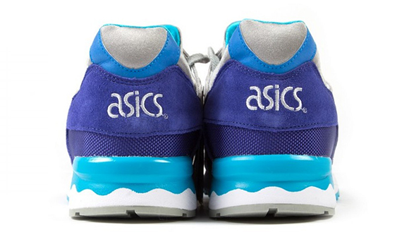 Asics Gel Lyte V Dark Blue Light Grey