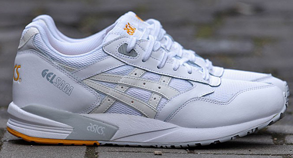 Asics Gel Saga All White