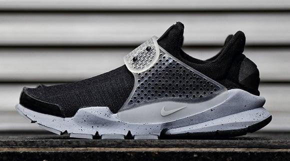 Fragment Design Nike Sock Dart Black White