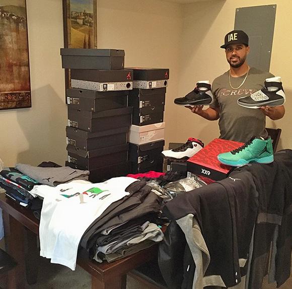 Gio Gonzalez Shares Upcoming Air Jordans