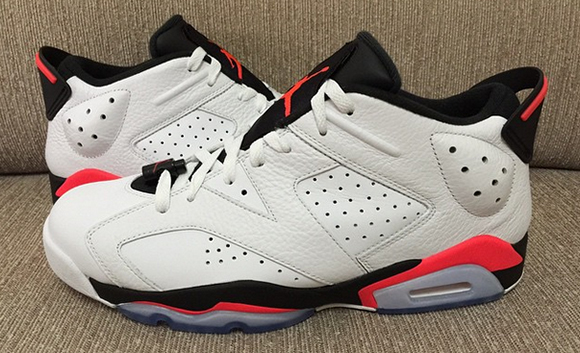 quality design 76898 160f5 Infrared' Air Jordan 6 Low Retro 2015 | SneakerFiles