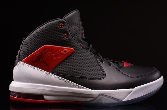 Jordan Air Incline Black Gym Red White