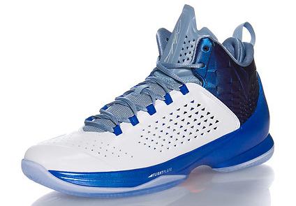 Jordan Melo M11 Knicks White Blue Grey