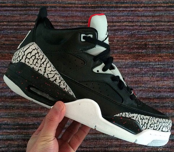 e5a8b1711ef Release Date Jordan Son of Mars Low Black Cement hot sale 2017 ...