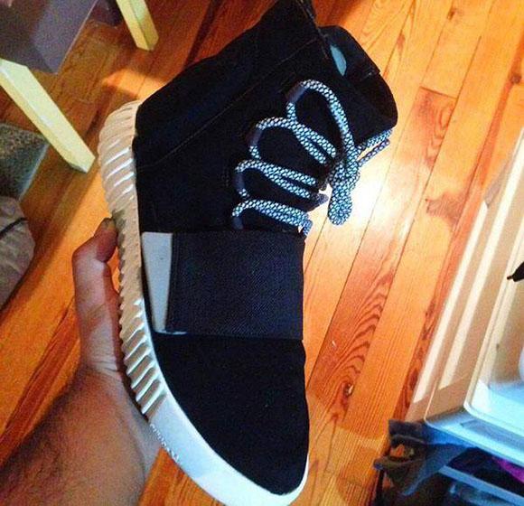 kim k chiama ben baller falso adidas yeezy 750 impulso custom nera