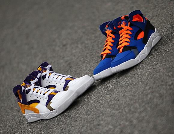 Nike Air Flight Huarache Knicks Lakers