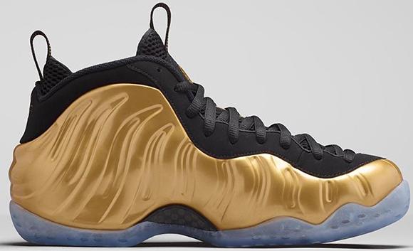 Nike Air Foamposite One Metallic Gold Release Info