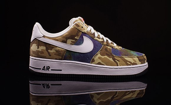 Nike Air Force 1 Low Camo White Black
