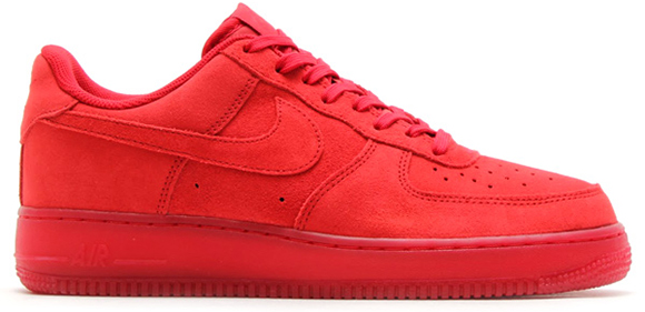 solar red nike air force one low