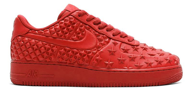 Nike Air Force 1 Low Stars Red