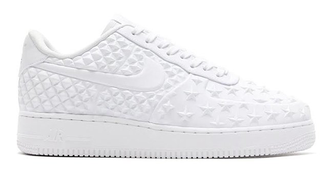 Nike Air Force 1 Low Stars White