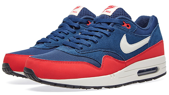 Nike Air Max 1 Midnight Navy   University Red  5baec6cce
