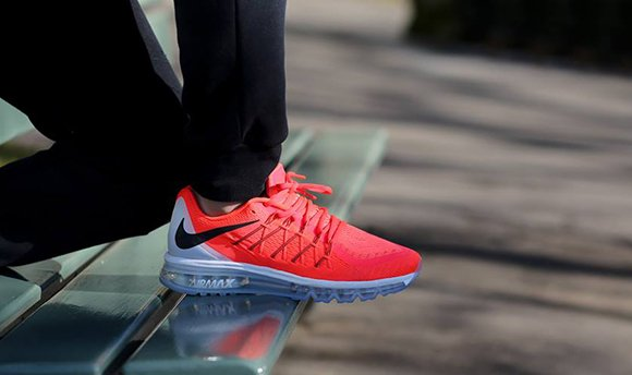 huge selection of 0261e aec08 Nike Air Max 2015 Bright Crimson