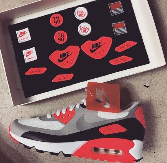 nike air max infrared patch