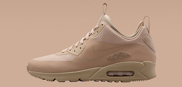 Nike Air Max 90 Sneakerboot Sand