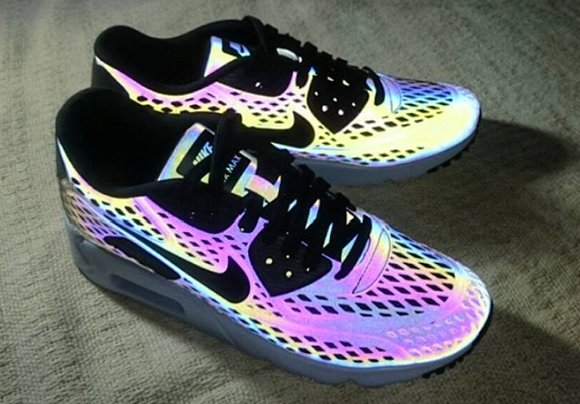 on sale f68cd b2fc2 Nike Air Max 90 Ultra Moire Holographic