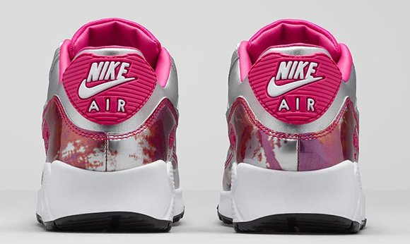 Nike Air Max 90 Womens Chrome Color Pink