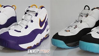 Nike Air Max Uptempo Lakers South Beach