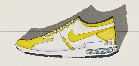 Nike Air Max Zero White Yellow Original Sketch